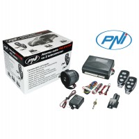 Alarma auto PNI OV288, 2 telecomenzi, functie deschidere portbagaj, senzor de soc, functie localizare vehicul, armare silentioasa, sirena cu 6 tonuri