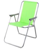 Scaun camping pliant 360.087GN structura metalica verde 53 x 60 x 76 cm