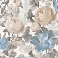 Tapet netesut, model floral, Sintra Acapella 386019, 10.05 x 0.53 m