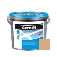 Chit de rosturi gresie si faianta Ceresit CE 40, caramel, interior / exterior, 2 kg