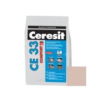Chit de rosturi gresie si faianta Ceresit CE 33, bahama bej, interior, 5 kg