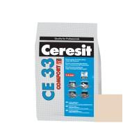 Chit de rosturi gresie si faianta Ceresit CE 33, natura,  interior, 5 kg