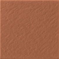Gresie exterior / interior portelanata antiderapanta klinker Simple 3D, mata, rosie 30 x 30 cm