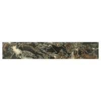 Plinta gresie ceramica Useras Diamante Negro, lucioasa, 8 x 45 cm