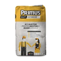 Glet pentru finisaj, pe baza de ciment, Primus, interior / exterior, 20 kg