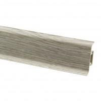 Plinta parchet PVC 10456-4640V canal gri nisip 2500 x 52 x 22 mm