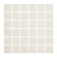 Mozaic ceramic Fargo, alb, 29.7 x 29.7 cm