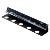 Profil PVC de colt interior, 00aimnn, negru marmorat, 2.6 m