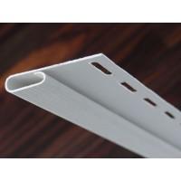 Sipca inchidere PVC, pentru lambriu exterior, Vox SV-14, alb, 3.05 m