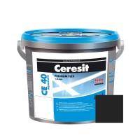 Chit de rosturi gresie si faianta Ceresit CE 40, grafit, interior / exterior, 5 kg