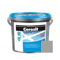Chit de rosturi gresie si faianta Ceresit CE 40, gri, interior / exterior, 2 kg