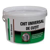 Chit universal, acrilic, de cutit, Den Braven, interior, alb, 0.4 KG