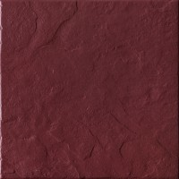 Gresie exterior / interior portelanata Burgund Rust 5432, rosie, mata, 30 x 30 cm