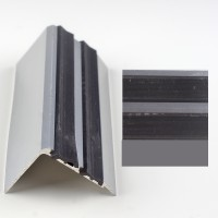 Profil aluminiu pentru treapta, Davo Pro 2150 argintiu, 1 m