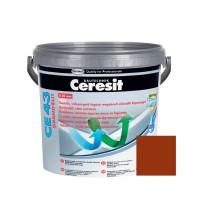 Chit de rosturi gresie si faianta Ceresit CE 43, caramiziu clinker, interior / exterior, 5 kg