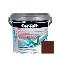 Chit de rosturi gresie si faianta Ceresit CE 43, ciocolate maro, interior / exterior, 5 kg
