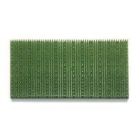Covor intrare exterior Condor, polietilena, verde, dreptunghiular, 60 x 40 cm