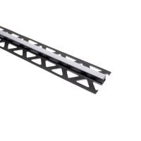 Profil de dilatatie pentru gresie, PVC, gri, 2,5 metri, 25210-1236