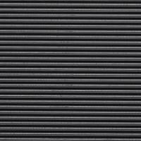 Covor intrare interior Alfa, cauciuc, negru, rola 100 cm