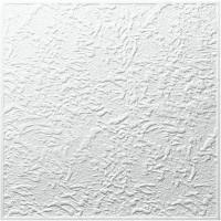 Tavan fals decorativ, polistiren expandat, F Constanta, clasic, alb, 50 x 50 cm