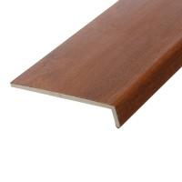 Glaf PVC extrudat exterior pentru ferestre, Plastivan, stejar, 500 x 22.5 x 0.9 cm