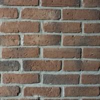 Piatra decorativa, interior / exterior, Modulo Chester Brick, gri si rosu violet (cutie = 1 mp)