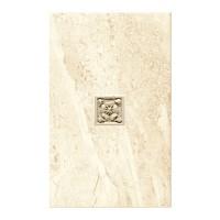 Decor faianta baie / bucatarie Amaro Crem mat 25 x 40 cm