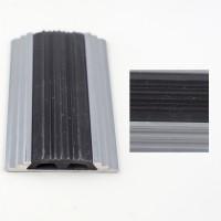 Profil aluminiu pentru treapta, drept, 2151 argintiu, 1 m