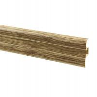 Plinta parchet PVC VKP 53.23 canal stejar bora 2500 x 53 x 15 mm