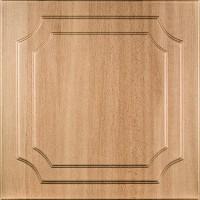 Tavan fals decorativ, polistiren extrudat, C1001, clasic, fag inchis, 50 x 50 x 0.3 cm