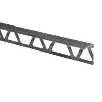 Profil aluminiu terminatie gresie si faianta, SET S52, natur, 12 x 2500 mm