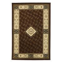 Covor living / dormitor Oriental Weavers Pronto D 316/88 polipropilena BCF dreptunghiular maro 67 x 120 cm