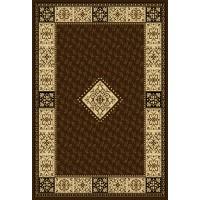 Covor living / dormitor Oriental Weavers Pronto D 316/88 polipropilena BCF dreptunghiular maro 160 x 235 cm