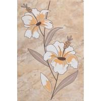 Decor faianta baie / bucatarie Pisa 2631-0175 lucios orange 20 x 30 cm