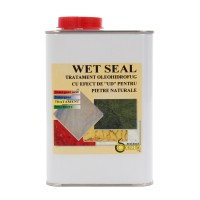 Impermeabil pentru piatra, cu efect umed, Wet Seal, 1 L