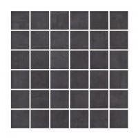 Mozaic ceramic Fargo, negru, 29.7 x 29.7 cm