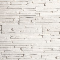 Piatra decorativa, interior, Modulo Oslo White, alb, 0.78 mp