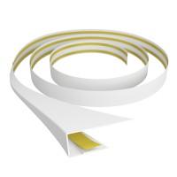 Profil universal B601 din PVC, alb, 3 m