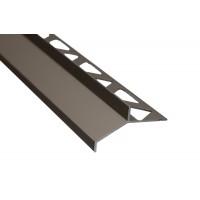 Profil aluminiu picurator terase, S99, Olive, 15 x 2500 mm