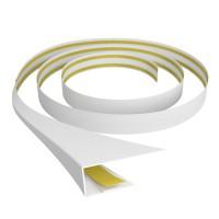 Profil universal B602 din PVC, alb deschis, 3 m
