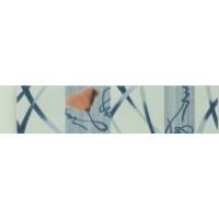 Brau faianta Daria 21821 albastru lucios 6 x 25 cm