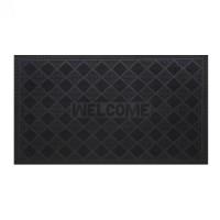 Covor intrare exterior RT Pinmats RT307, cauciuc, negru, dreptunghiular, 75 x 45 cm