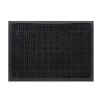 Covor intrare exterior RT Rubered RT33, cauciuc, negru, dreptunghiular, 60 x 40 cm