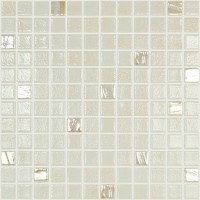 Mozaic din sticla 500/722, mix bej, baie / bucatarie, 31.7 x 31.7 cm