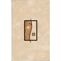 Decor faianta baie / bucatarie Florence 2642-0451 lucios bej 25.2 x 40.2 cm