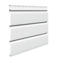 Sageac Infratop Vox SV-07, perforat, PVC, alb, 2.7 m