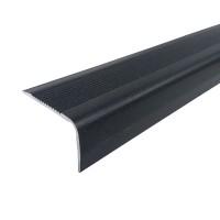 Profil aluminiu pentru treapta, Profiline gri, 40 x 25 mm, 1.2 m