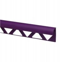 Profil PVC margine gresie si faianta, SET 31318, uni, mov, 10 mm, 2.5 m