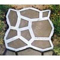 Matrita pavaj / piatra decorativa, plastic, exterior, neagra