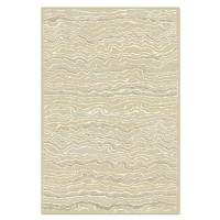 Covor living / dormitor Carpeta Matrix 18591-15055 polipropilena dreptunghiular crem 120 x 170 cm